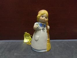 1978 JASCO MERRI BELLS GIRL WITH A BROOM BELL - $8.99