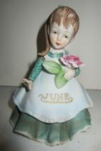 Vintage Geo Z Lefton June Birthday Month Flower Girl - $24.65