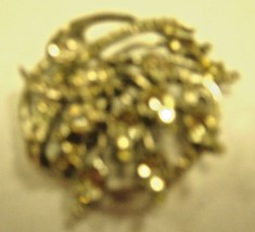 Eisenberg Sterling brooch with all rhinestones present and shiny - $123.75
