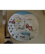Royal Doulton Sleigh Bells collector plate 1 available - $3.47