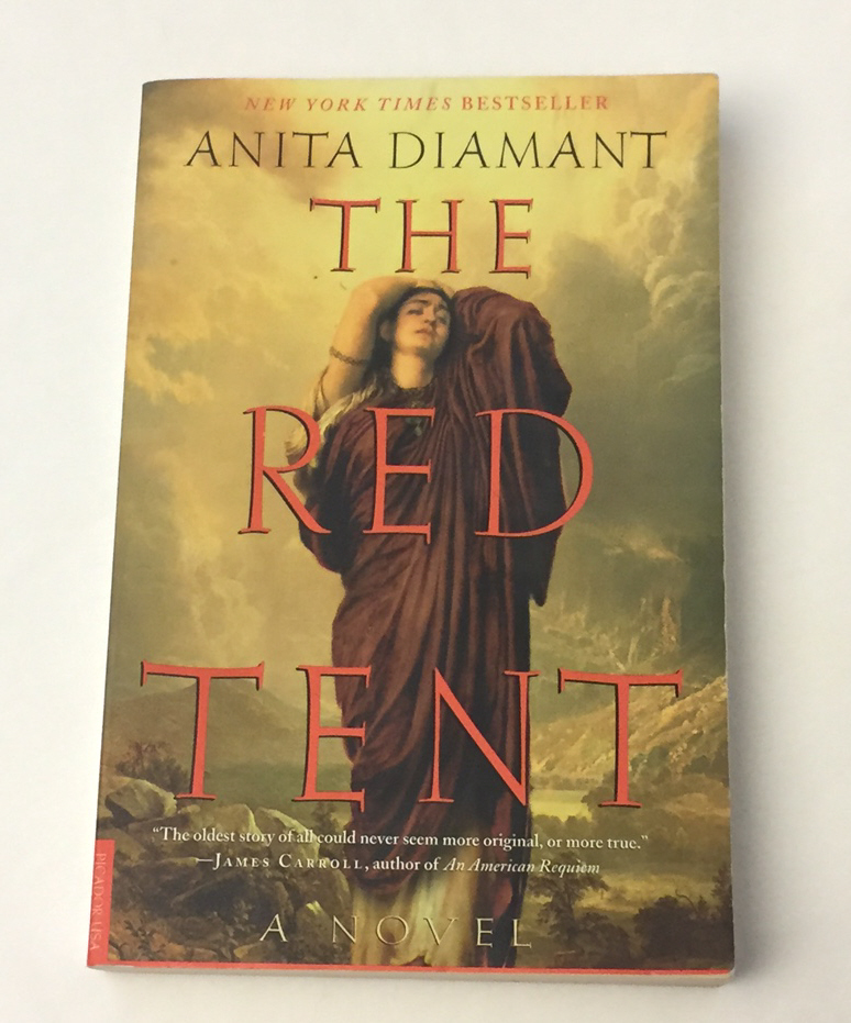 Primary image for SC book The Red Tent by Anita Diamant Biblical story of Dinah