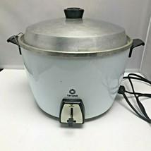 VTG Vintage Tatung Automatic Cooker/Steamer Blue White Model TAC-10HLA –... - $239.99