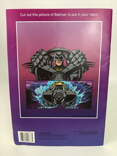 Batman Returns Sticker Fun Golden Books and 50 similar items