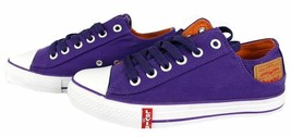 Levi's Men's Classic Premium Casual Sneakers Shoes Buck Lo Twill 514887-32L image 2