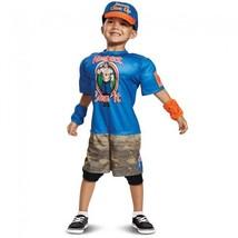 Disguise Wwe John Cena Muscolo Bambini Wrestling Costume Halloween 66832 - $28.87