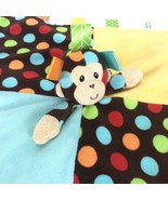 Taggies Monkey Baby Blankie Security Lovey Plush Toy Stimulating Texture... - $19.79