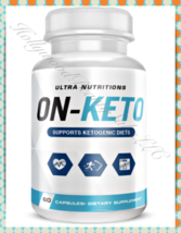 Ultra Nutritions ON-KETO PEAK X KETO Advanced Weightloss BHB Supplement ... - $32.95