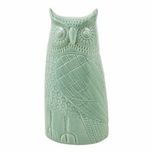 Frosted Peak Owl Figurine - Mint Owls - $27.71