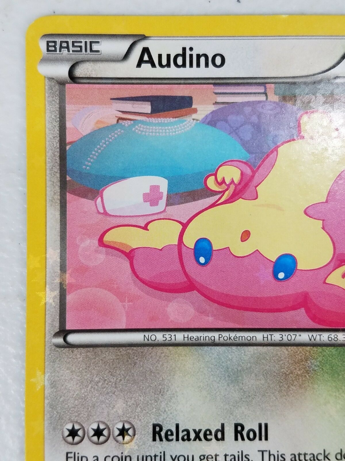 Pokemon Black & White Series Radiant Collection - Audino (Holo)