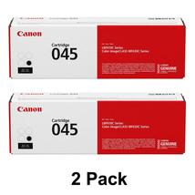 2 Canon imageCLASS MF634Cdw MF634Cdw MF634Cdw Black Toner Cartridge 1242... - $176.35