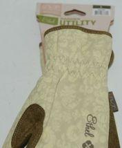 Mechanix Wear 911753 Womens Ethel Large Garden Utility Gloves Yellow Tan 1 Pair image 7