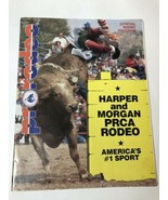 Autographed Pro Rodeo Official Rodeo Program 1991 Harper And Morgan PRCA - $28.04