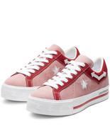 Womens Converse X MadeMe One Star Platform Ox 563730C Pink/White 7 7.5 8... - $64.99