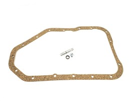 200R4 Chevrolet Transmission Linkage Shaft & Linkage Seal w Cork Pan Gasket - $49.45