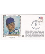 PAUL MOLITOR 3 STOLEN BASES RECORD TIED MILWAUKEE, WI JUL 26 1987 Z SILK - €1,72 EUR
