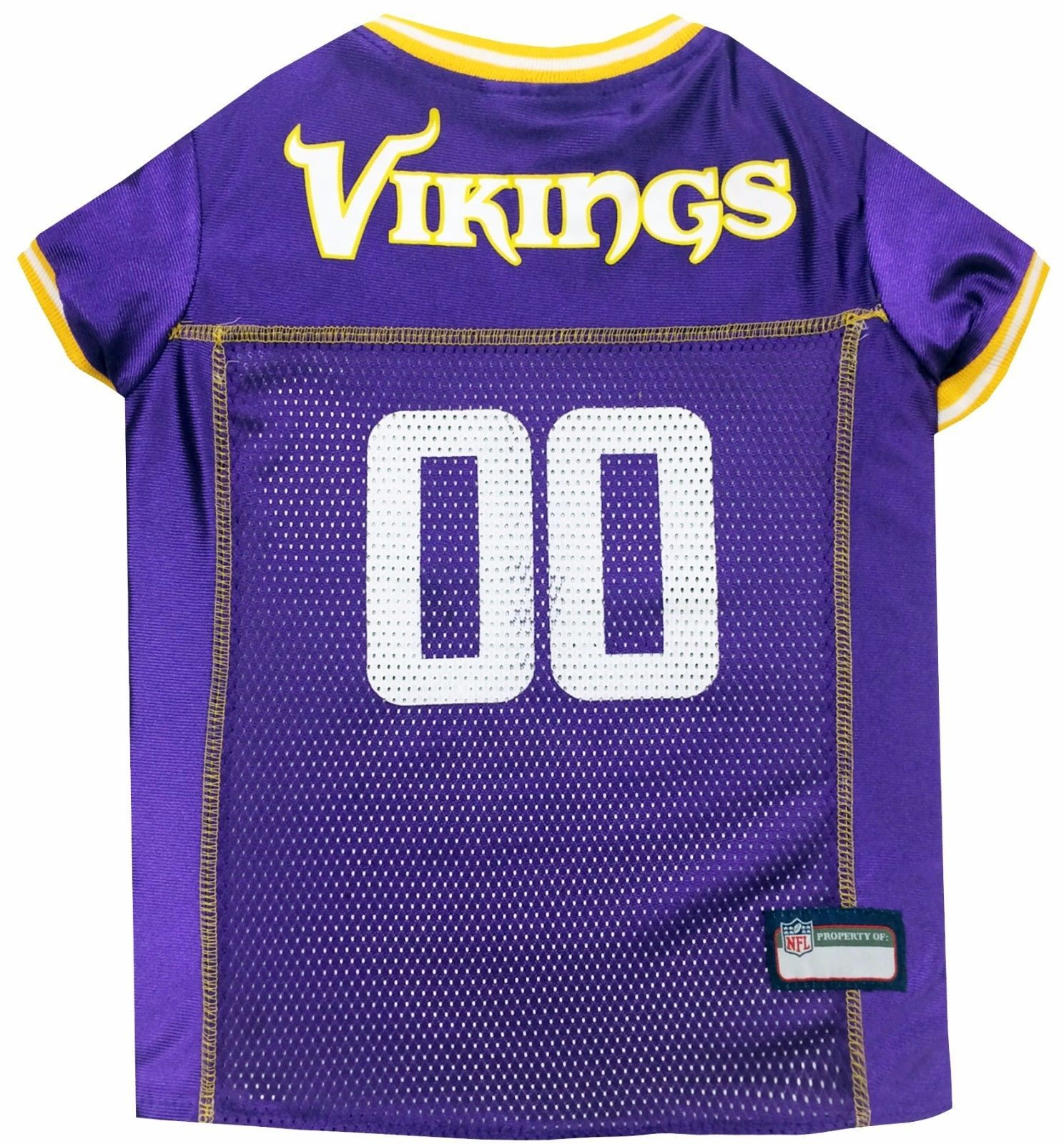 Primary image for NFL Minnesota Vikings Pet Jersey. *Officially Licensed* Brand NEW!