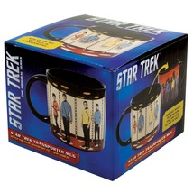 STAR TREK Mug Heat Activated Transporter Room Coffee Transforming Energize ! OOP image 4