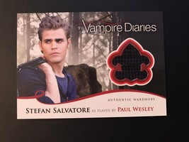 Vampire Diaries Season 2 Costume/Wardrobe Card M6 Paul Wesley/Stefan Sal... - $21.38