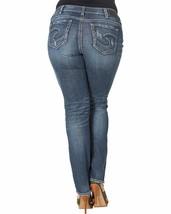 Silver Jeans Co. Women's Plus Size Suki Curvy Fit Mid Rise Straight Leg ... - $88.81+