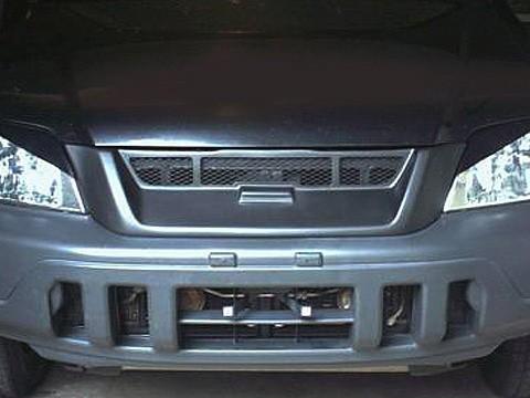 Front Bumper Sport Mesh Grill Grille Fits JDM Honda CR-V CRV 97-01 1997-2001