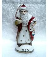 Christmas Eve Inc Santa Claus Figurine Ornament 1895 Memories of Santa - $18.99