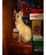 Vintage Siamese Cat Figure Marked Japan 12