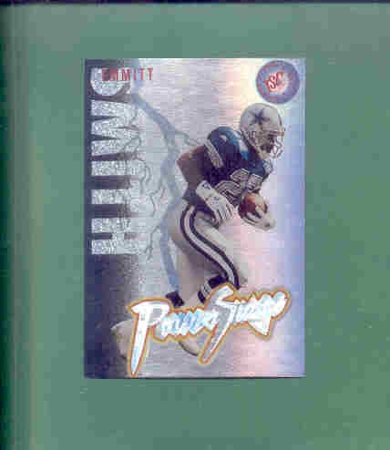 1995 Stadium Club Emmitt Smith Power Surge FB Insert