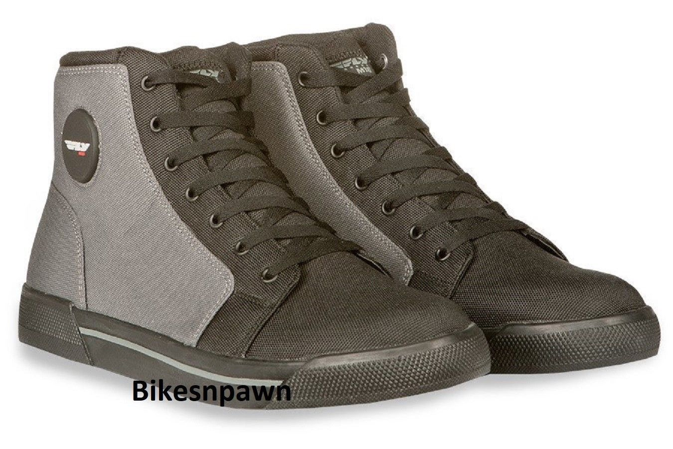 New Size 8 Mens FLY Racing M16 Canvas Motorcycle Street Riding Shoe