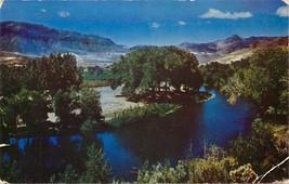 Chrome Postcard Nevada H534 Truckee River Near Reno Sierras California A... - $4.00