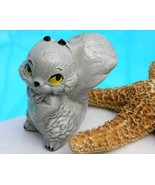 Vintage Gray Squirrel Figurine Ceramic Porcelai... - $9.95