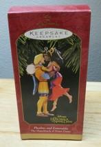 Disney HUNCHBACK of NOTRE DAME  Hallmark Ornament Phoebus & Esmeralda - $7.91