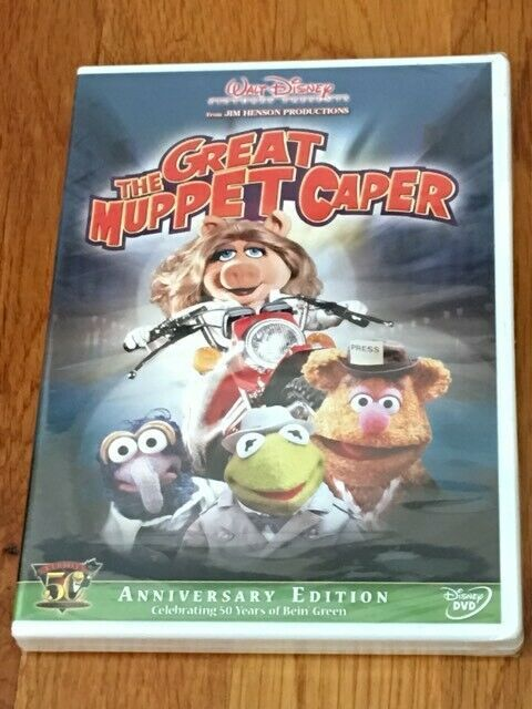 The Great Muppet Caper (DVD) BRAND NEW / FACTORY SEALED