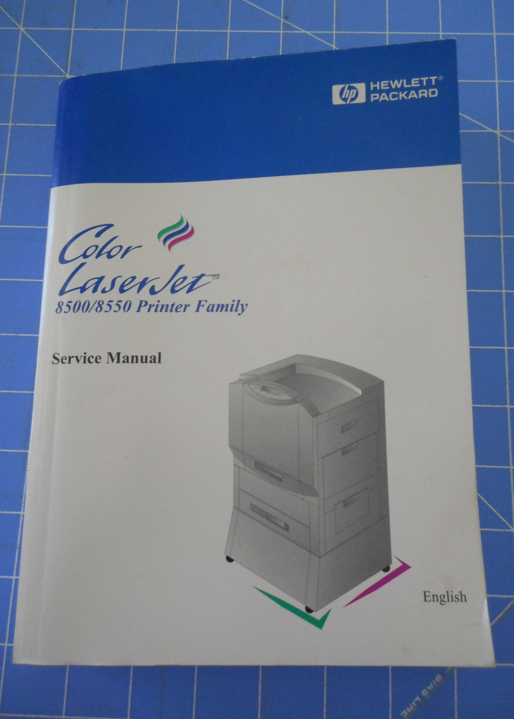HP COLOR LASERJET 8500 8550 Service Manual Book 624 pages