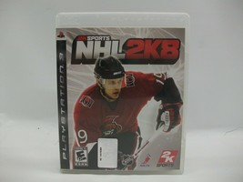 NHL 2K8 PS3 Playstation 3 2K Sports Hockey Video Game Play Tested Works - $6.31