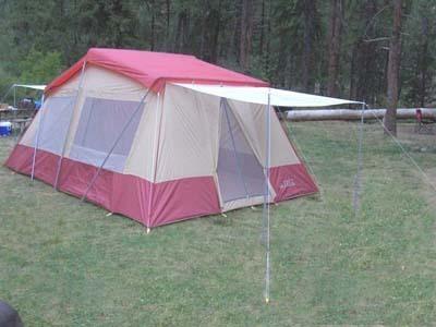 Trek  Room Family Tent Instructions
