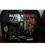 Alien Predator 2 Pack Figures New In The Package - $89.99