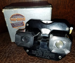 Sawyers Viewmaster Vintage 1940s Crater Lake Disc With Box - $49.00