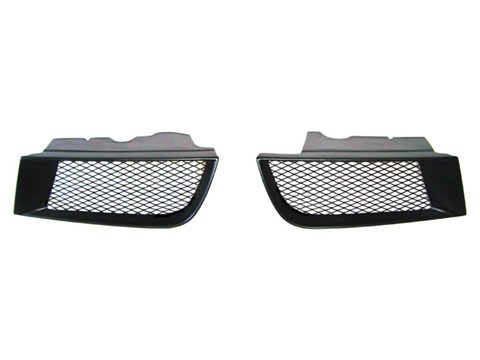 Front Bumper Sport Mesh Grill Grille Set Fits Mitsubishi Galant 02-03 2002-2003