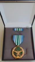Usmc & Fleet Marine Corps Unissued Cased Military Merit Ia Award Medal Set #12 - $32.66