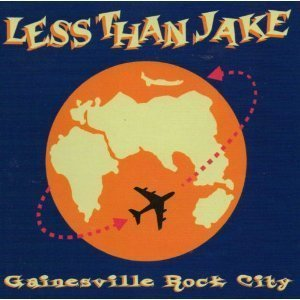 Less Than Jake - Gainesville Rock City Cd single Inc Video Excellent Condition