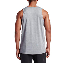 NIKE ATHLETIC SWOOSH TANK TOP MEN'S GREY - $10.87