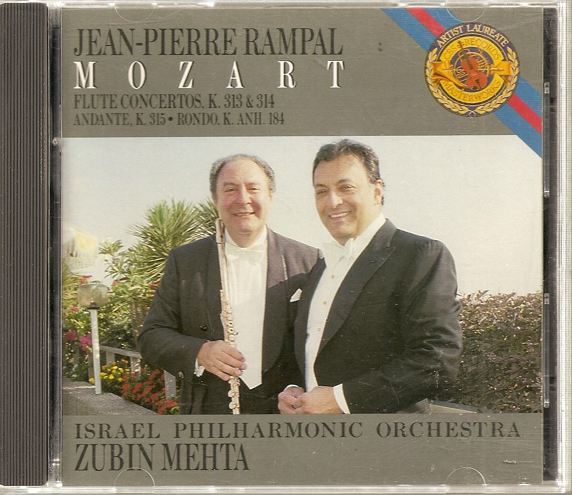 CD--	Mozart: Concerto In G Major/Concerto In D Major/Andante