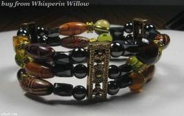 3 Strand Magnetic Hematie Fashion Bracelet - $14.95