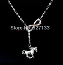 Infinity Horse Necklace - $3.99
