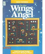 Quilt Pattern On the Wings of an Angel Booklet Applique Folk Art - $8.99