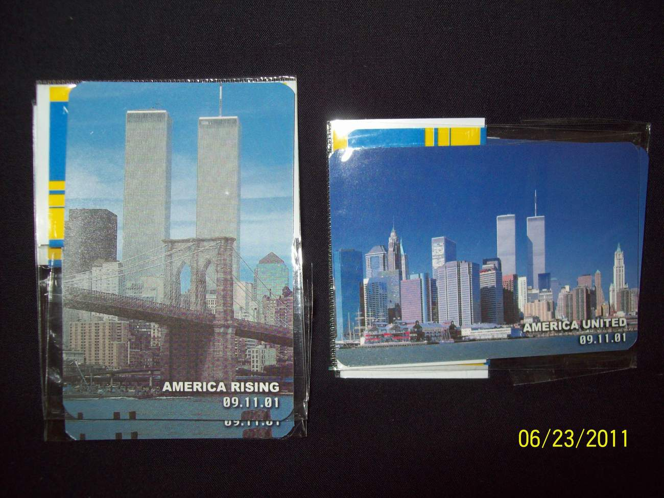 Twin Towers Magnets (Pk of 12)