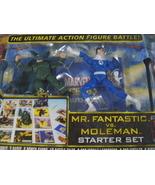 Marvel Legends Showdown Mr. Fantastic vs. Moleman action figure battle s... - $26.00