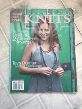 INTERWEAVE KNITS Summer 2005 Lace Sun Dress Camisole Bolero Scarf Gifts - $9.50