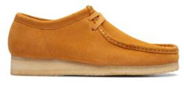 Clarks Originals Wallabee Men's Orange Suede Tumeric Casual Oxfords 26139179 - $150.00