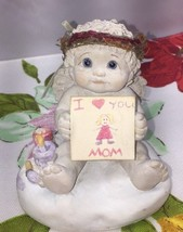 """Dreamsicles  """"From The Heart"""" 10116 I love you Mom 1997 Dream Babies Ang... - $7.91"""